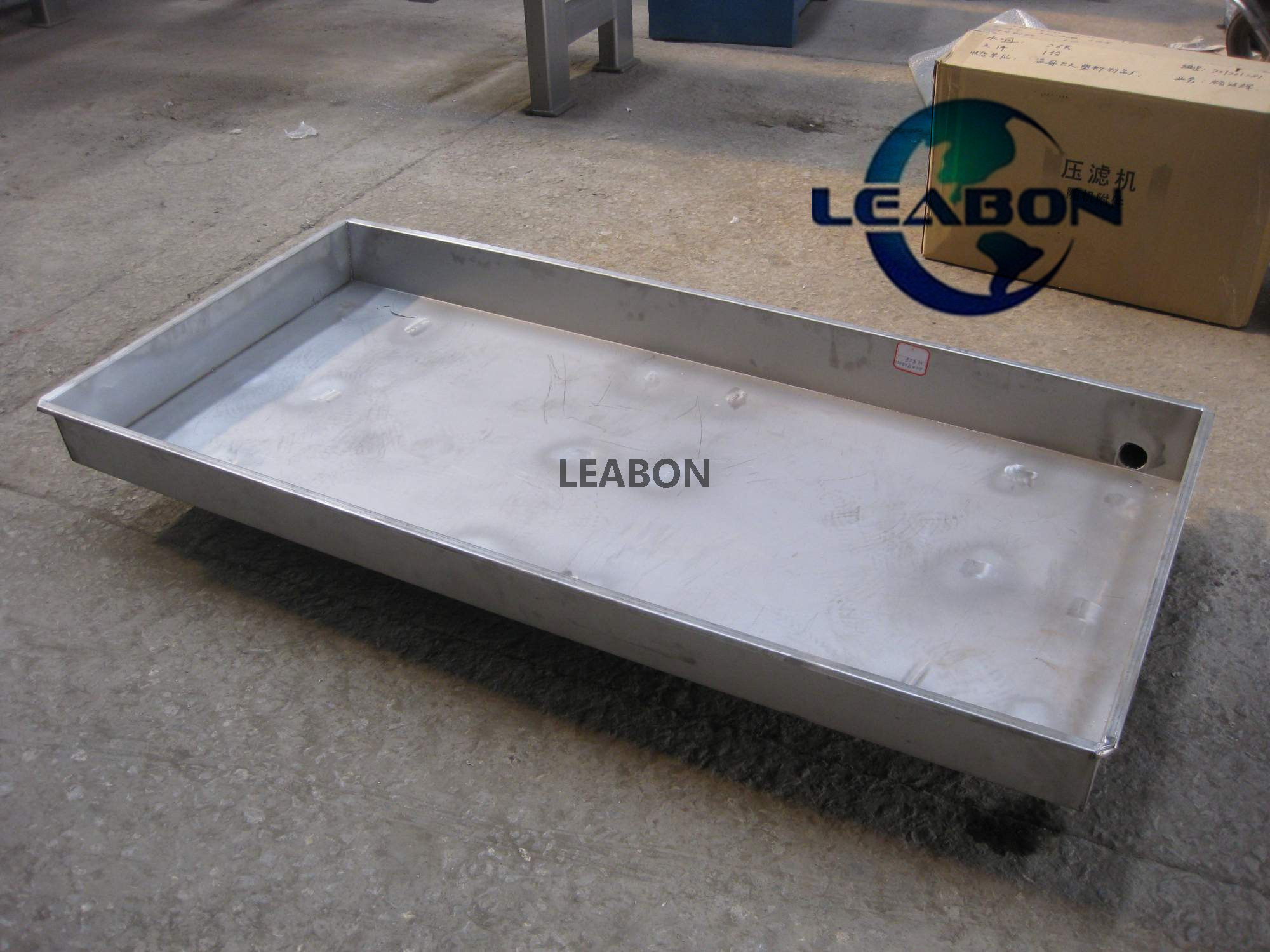 Filter Press Use Water Collecting Tray