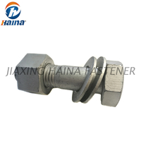 High-Strength Gr. 8.8 Gr.10.9, Gr.12.9 ASTM A325,A490 Heavy Hex Bolt