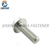 DIN6921 Stainless Steel A2-70 Hex Head Flange Bolts With Serrated