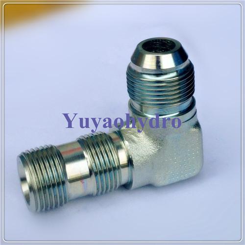 Hydraulic jic degree flare tube fittings