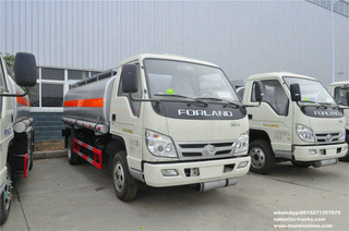 Forland 4x2 RHD Aluminium refueling vehicle 5CBM