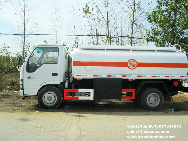 camion 5000L de ravitaillement de l'ordinateur ISUZU
