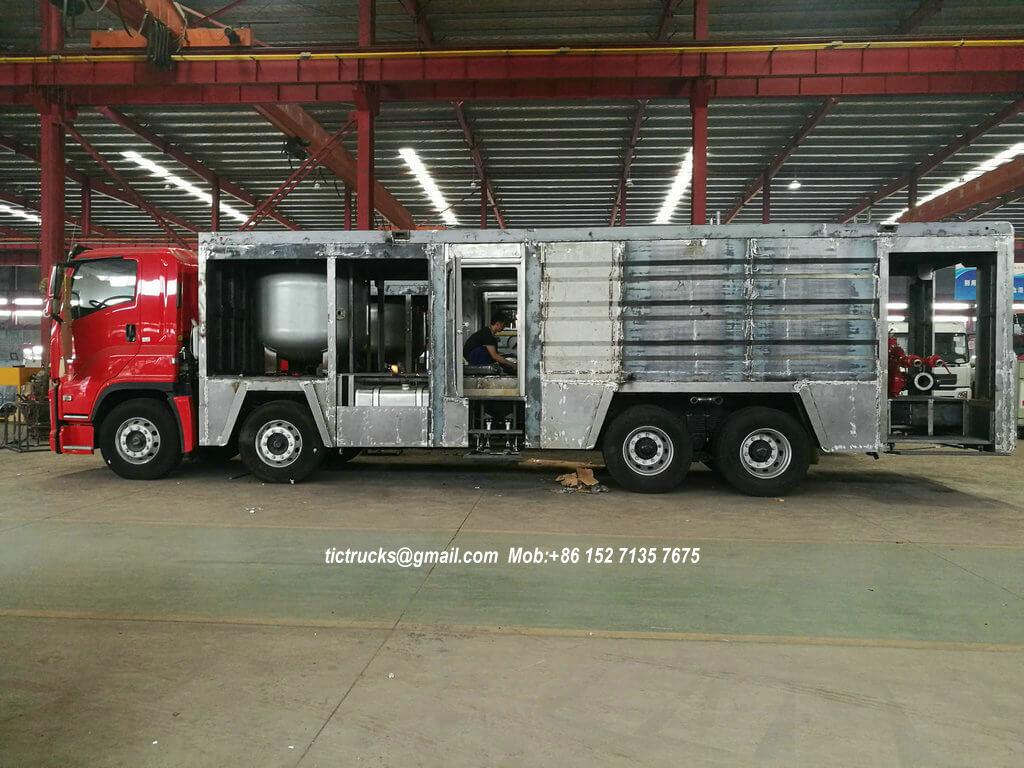 ISUZU GIGA foam powder fire -39-truck