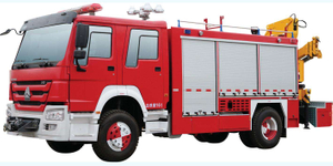 HOWO Rescue Vehicle 4x2 / 4x4/ LHD / RHD