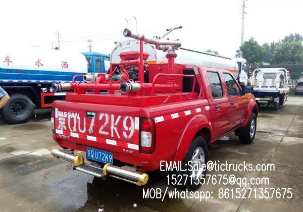 camion de pompiers -05-_1.jpg de camionnette de livraison de nissans