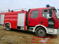 Fire fighting FAW J6 Fire Pump Truck 8000L EURO 5