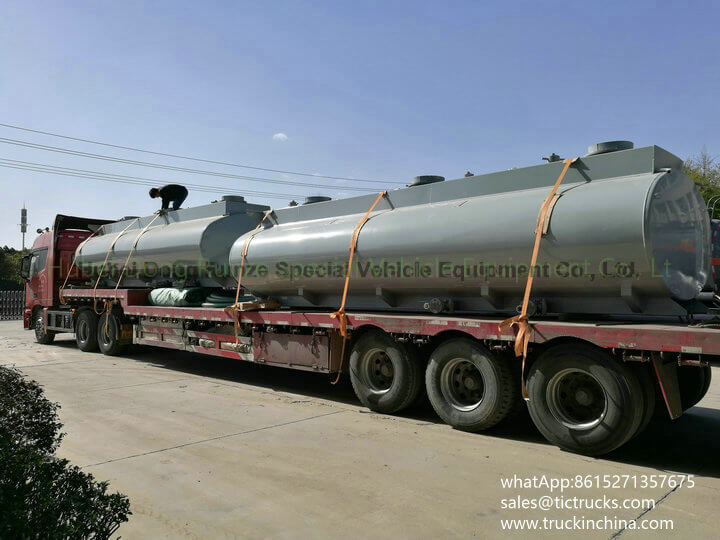 HCL Tank -23cbm-acid tank body