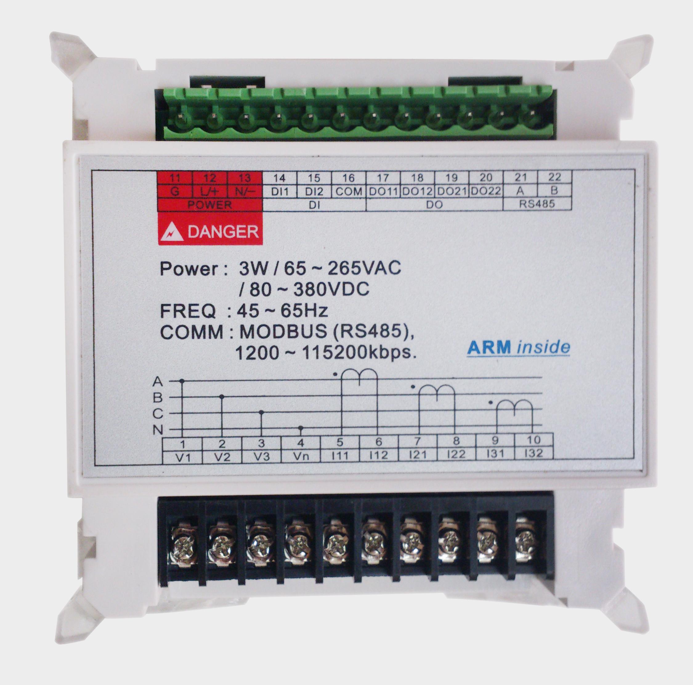 Pm835 Programmable Digital Panel Meter Digit Power Wiring Diagram In Energy