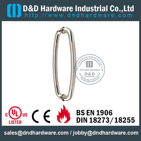 304 SS Couple Pull Handle -DDPH011