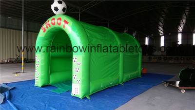 RB9098(6x3x3m) Inflatable Small Football Shooting Games For Sport Game