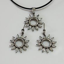 Sun Flower Fashion Jewelry Set