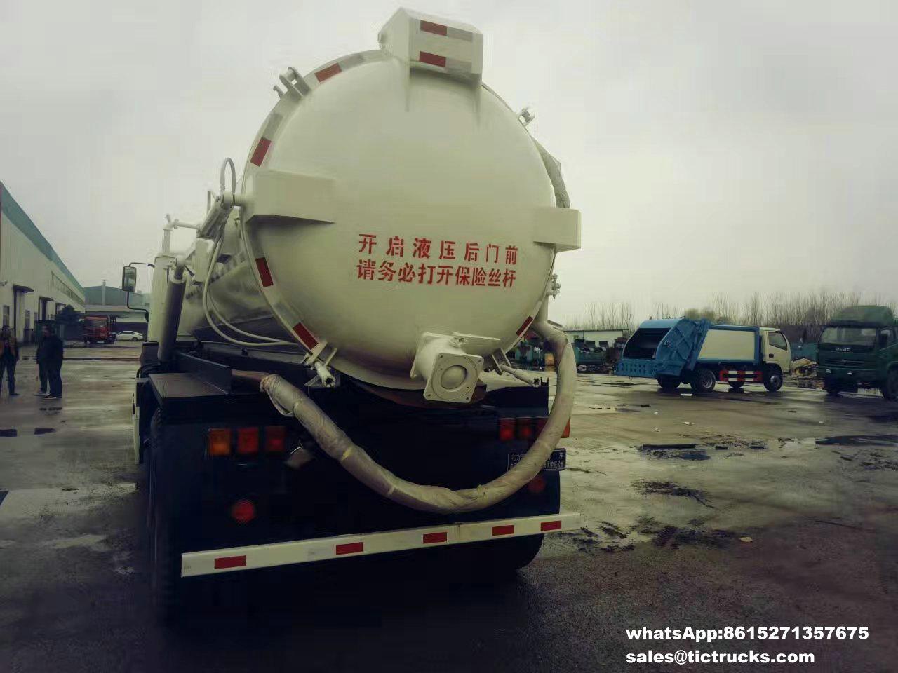 Camion -06_1.jpg d'eaux d'égout de vide de Beiben