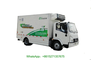 Dong Run Pure Electric Reefer Van Truck 5Ton