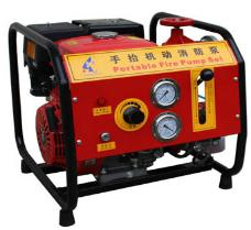Dong Jin Portable Petrol Fire Pump 13HP - 25HP Honda / LIFAN Mobile Fire Fighting Pump