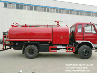 Fire fighting water tank lorry truck 7200L,1600Gallon