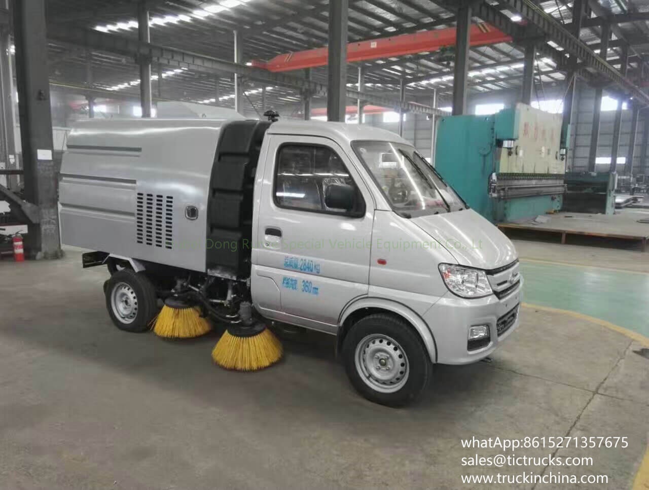 Mini balayeuse de route de la balayeuse vehicle-03T- de Changan trucks_1
