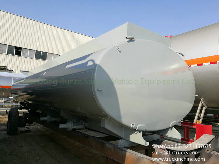 HCL Tank -21cbm-acid tank body