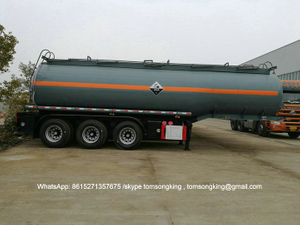 HYDROGEN PEROXIDE / PHOSPHORIC ACID Tanker Trailer 3 Axles