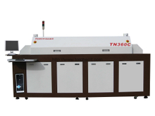 Full hot air lead-free reflow Oven with six heating-zones TN360C