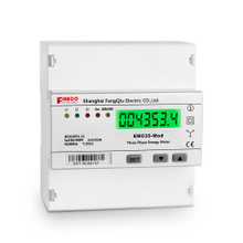 EM535-Mod 5(65)A three phase direct connected meter five modular din rail watt-hour meter 3 phase 4 wire energy meter modbus kwh meter