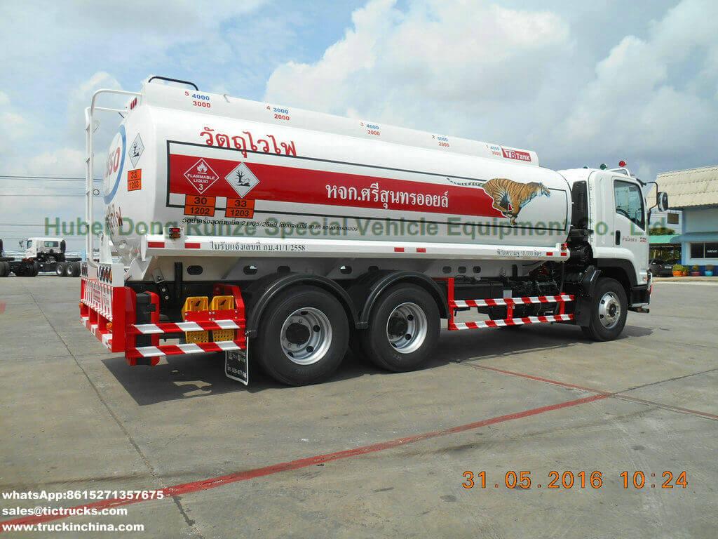Véhicules de distribution d'essence d'ISUZU 22000L ISUZU