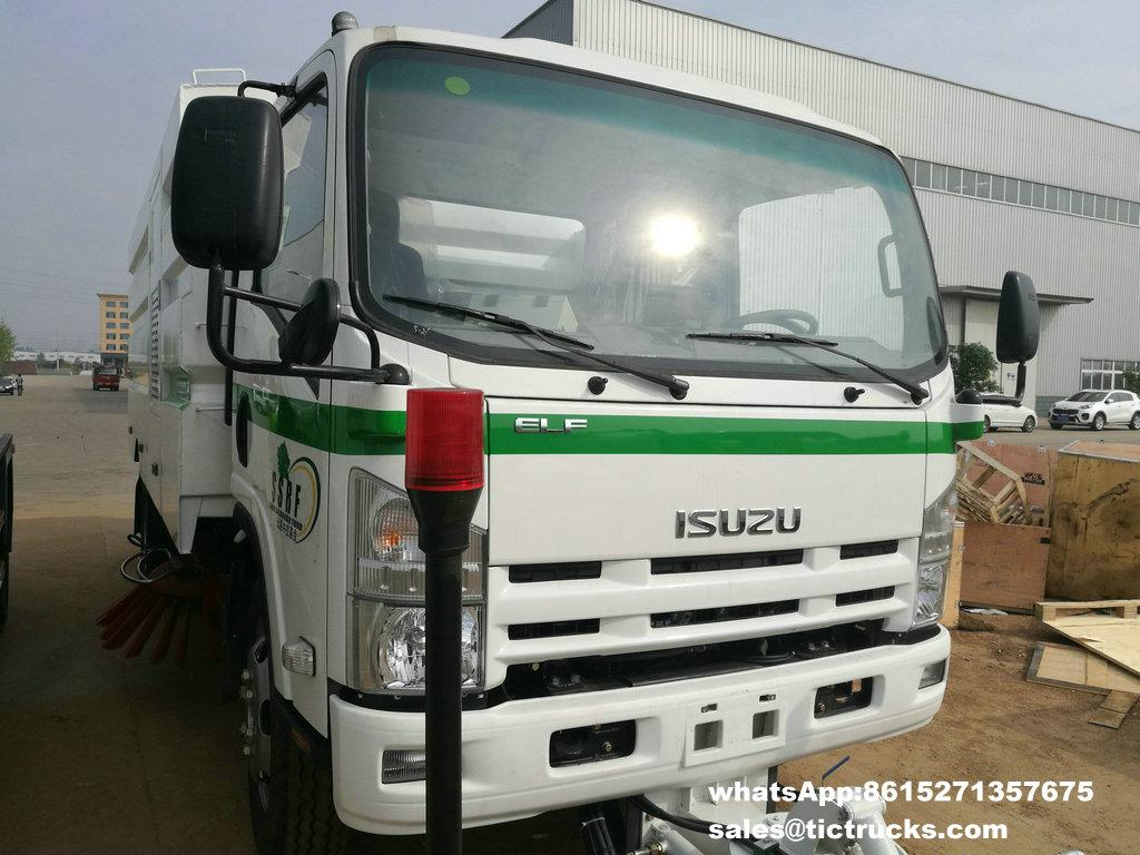 Camion -05.jpg de balayeuse de vide d'ISUZU