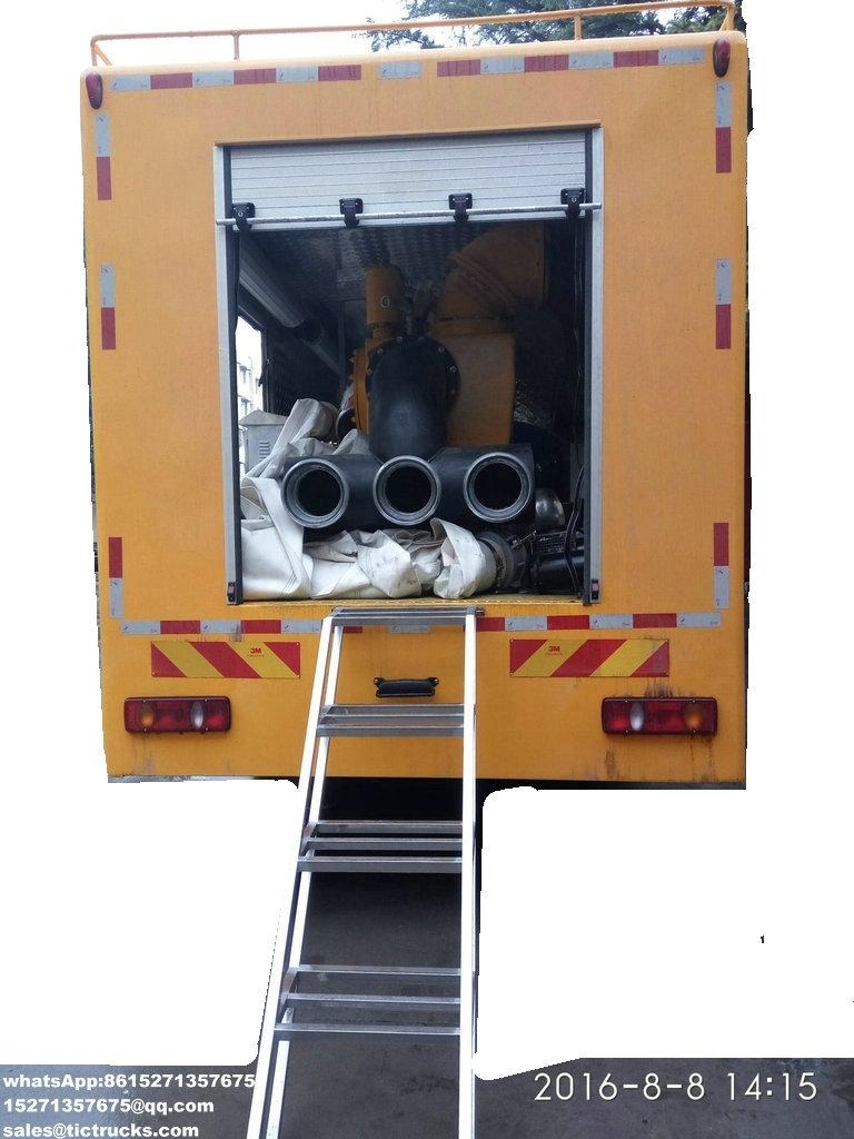 Le contrôle et l'évacuation d'inondation résistants à la sécheresse multifonctionnels pompent le camion 2.jpg