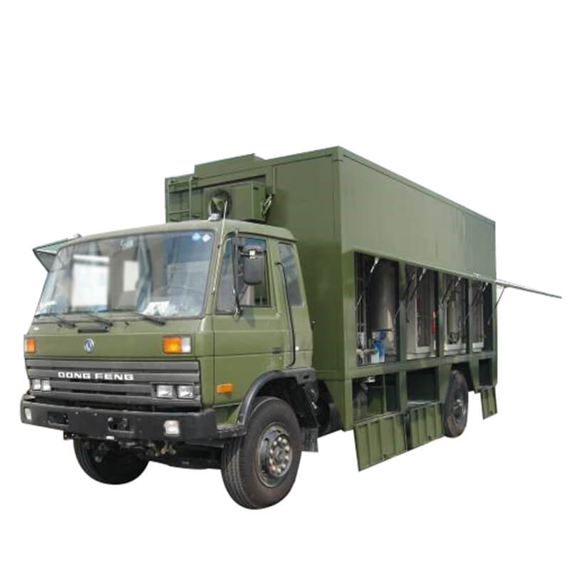 Mobile Purifying Drinking Water Vehicle