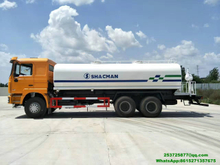 Shacman 10 wheels water Tanker Vehicle 4000 -5000gallon