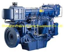 450HP 1000RPM Weichai medium speed marine diesel engine (X6170ZC450-1)