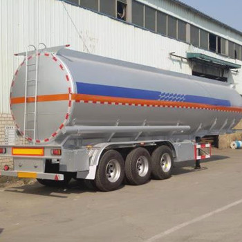 Tri-Axle 60000Liters 60CBM Tank/Jet Fuel Oil Gasoil Gasoline Transport Tanker Semi Truck Trailer