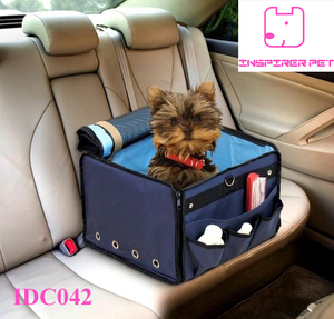 Dog Pet Cat Car Seat Small Pets Booster Carrier