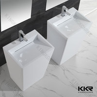 Modern Solid Surface Basins KKR-1384