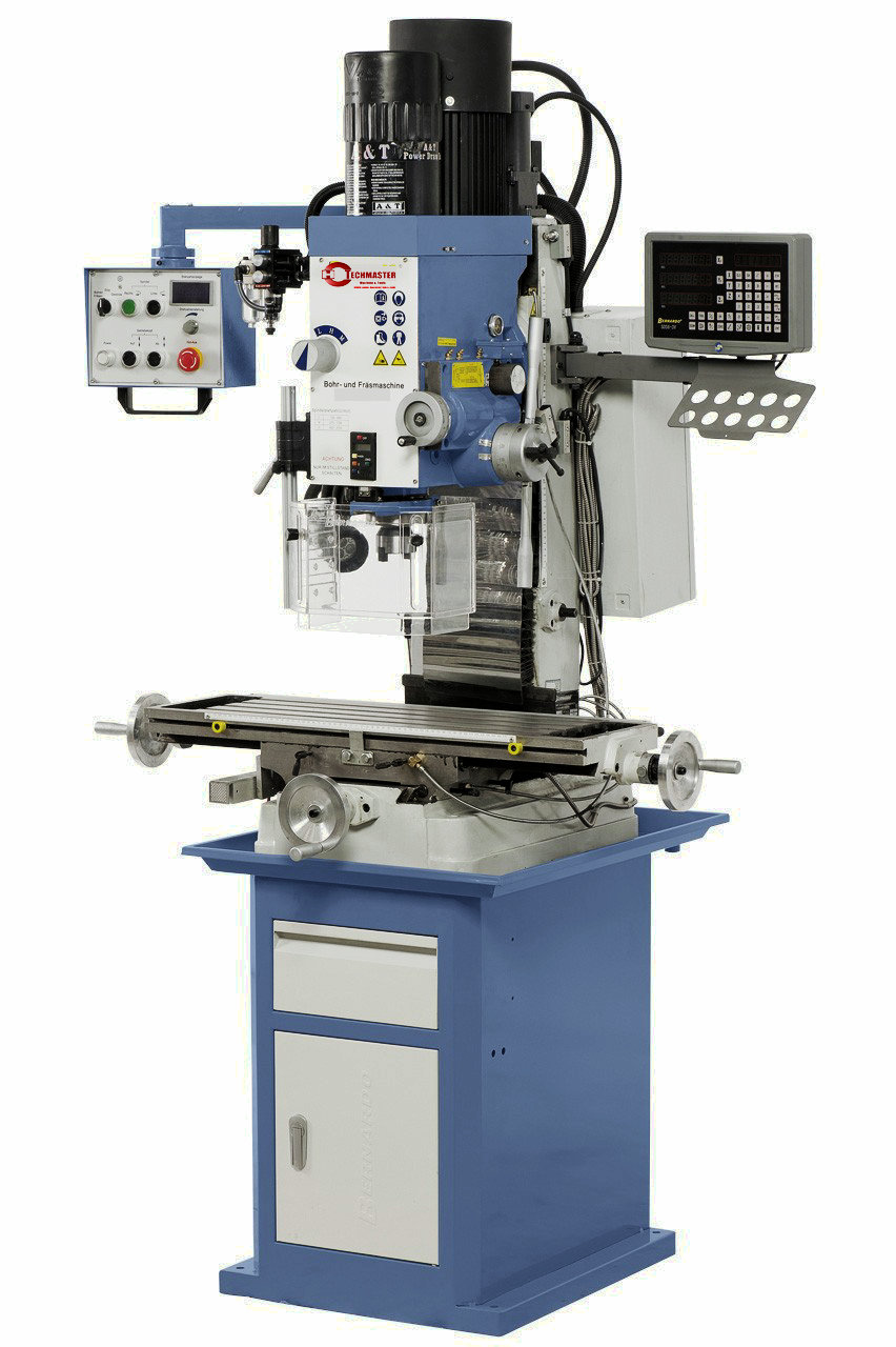 STEPLESS AUTO FEEDING DRILLING AND MILLING MACHINE EUROPE STYLE J-ZX45VD DRO