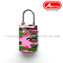 Zinc Alloy Colour Heat Plated Design Combination Padlock (805)