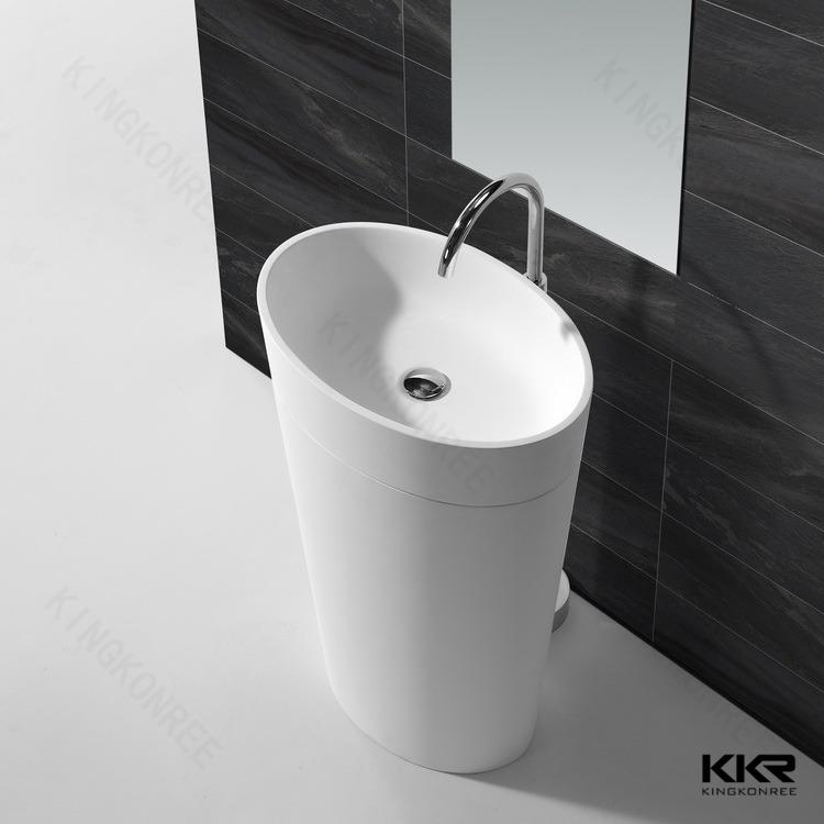 Chinese Resin Bathroom Wash Basin KKR 1587