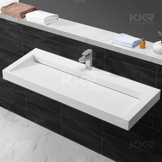 Artificial Stone Bath Vanities Manufacturers China Customized
