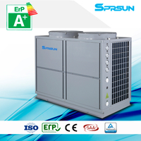 10P 75℃ hot water high temperature air source heat pump heating