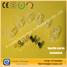 Electronic cigarette glass