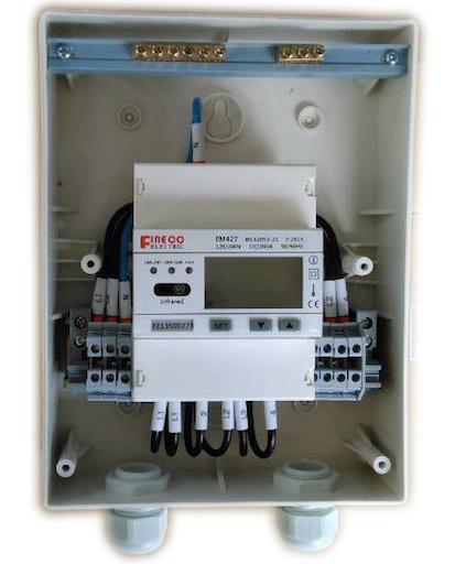 Single phase Meter box outdoor enclosure