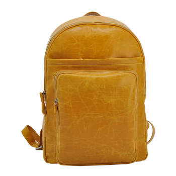 leather backpack with laptop compartment