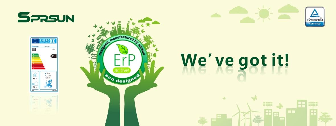 ERP Label Heat Pumps
