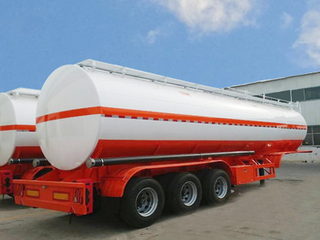 35CBM/35000L Carbon Steel Fuel Tanker Semi Trailer for Oil/Diesel/Crude/Gasoil Transport