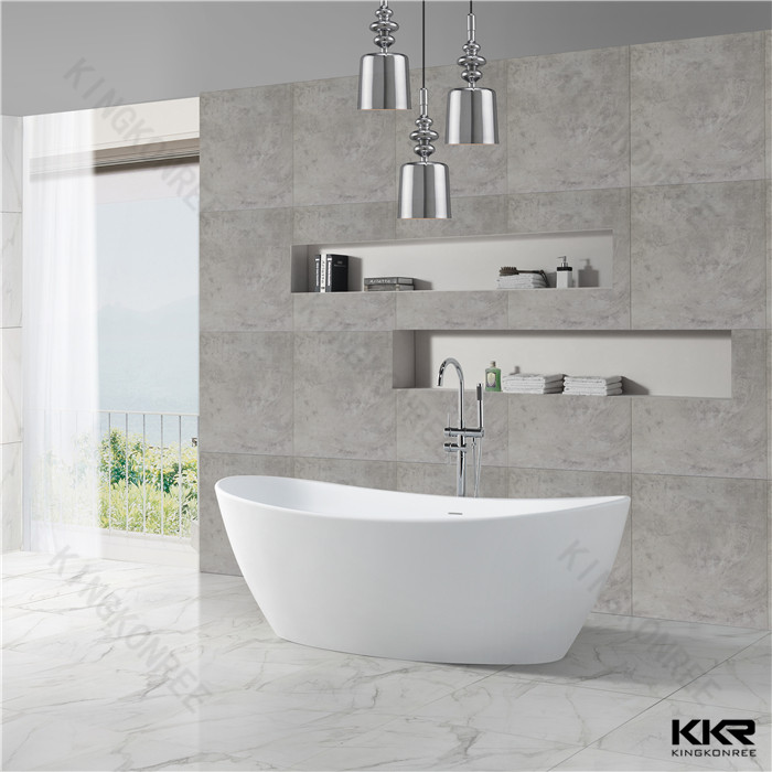 Indoor bathroom bathtub KKR-B034 from China manufacturer - solid ...
