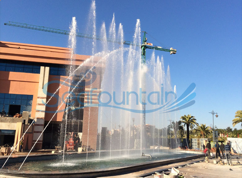 Morocco fountain dancing fountain outdoor fountain 10