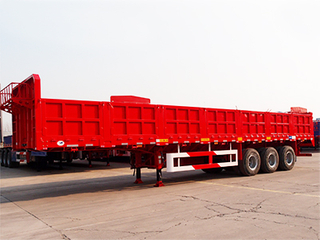 3 Axle 60 Tons Sidewall Dropside Trailer