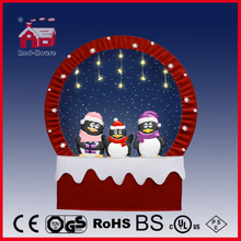 (40110F190-3P-RR) Snowing Christmas Decorations with Frame-supported and Textile-decorated