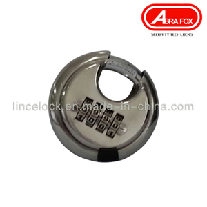 Discus Stainless Steel Combination Padlock 204