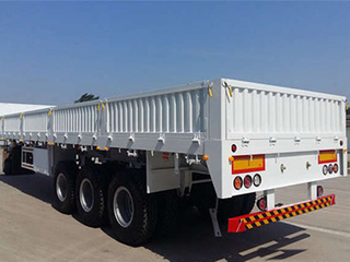 Low Price Multi Function Sidewall Tractor Cargo Semi Trailer