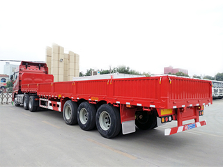 Hot Selling 3axle 40Ton Sidewall Truck Trailer